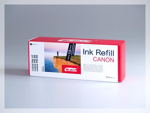 Černá plnící sada do tiskárny Canon PIXMA iP2600