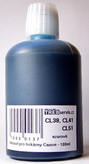 100ml azurový inkoust do tiskárny Canon PIXMA MP140