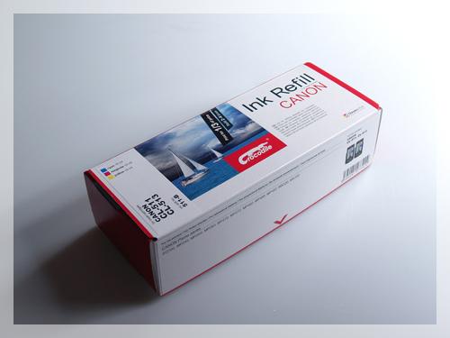 Barevná plnící sada do tiskárny Canon PIXMA MP252