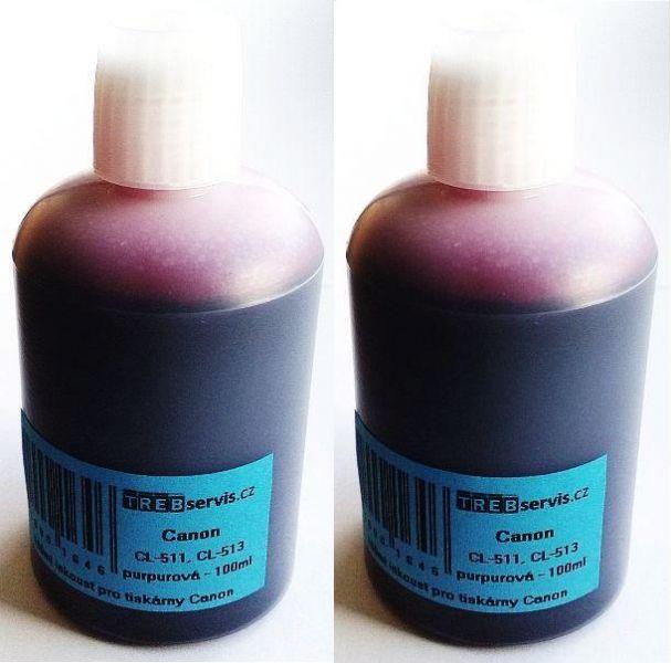 200ml purpurový inkoust do tiskárny Canon PIXMA MX340