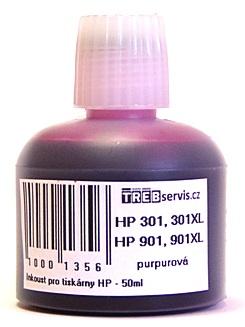 50ml purpurový inkoust do tiskárny HP OfficeJet J4624