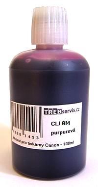 100ml purpurový inkoust do tiskárny Canon PIXMA MP530
