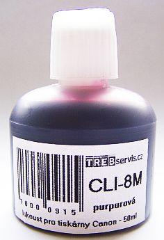 50ml purpurový inkoust do tiskárny Canon PIXMA MP530