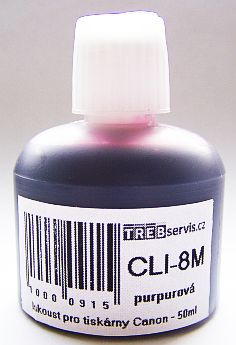 50ml purpurový inkoust do tiskárny Canon PIXMA MP960