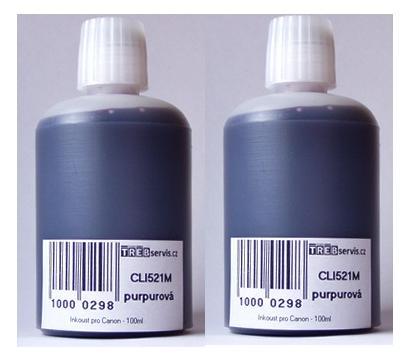 200ml purpurový inkoust do tiskárny Canon PIXMA MP630