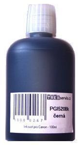100ml černý inkoust do tiskárny Canon PIXMA MX870