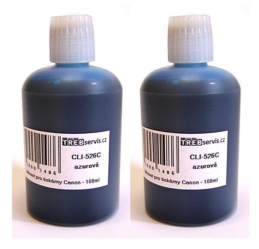 200ml azurový inkoust do tiskárny Canon PIXMA MG5250