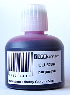 50ml purpurový inkoust do tiskárny Canon PIXMA MG6150