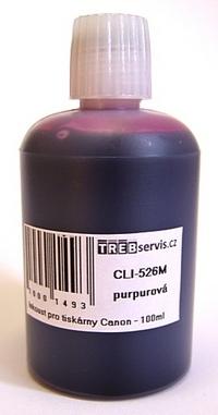 100ml purpurový inkoust do tiskárny Canon PIXMA iX6550