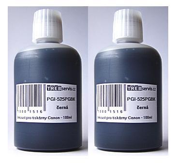 200ml černý inkoust do tiskárny Canon PIXMA iX6550