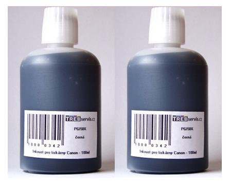 200ml černý inkoust do tiskárny Canon PIXMA iP4300